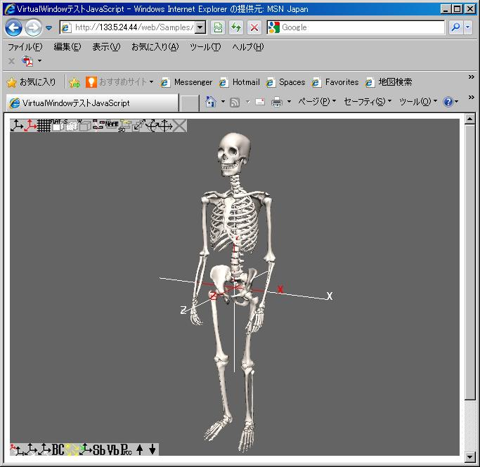 Aist Skeleton Model